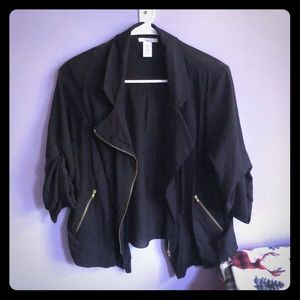 Bar III Cropped Jacket